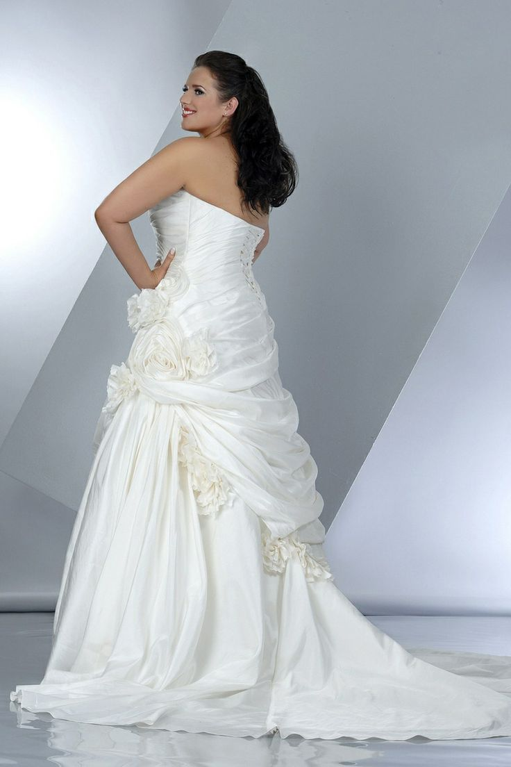 255 best all types of brides and weddings images on for Plus size wedding dresses in atlanta