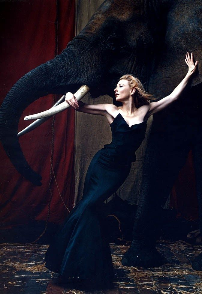 Cate Blanchett by Norman Jean Roy for Harper's Bazaar UK March 2006