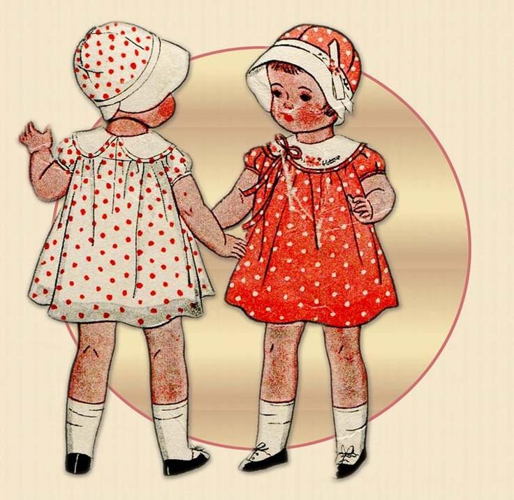 Best 123 Vintage Doll & Toy Pattern Community Board ideas on ...