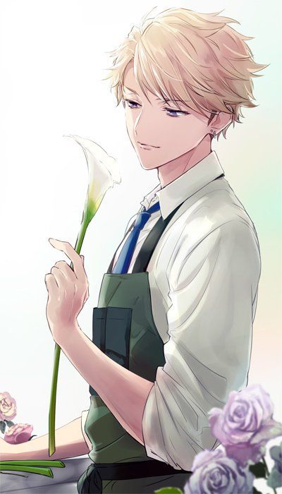 "This is Tom. He's 16 years old.  Being a botanist from his mom's side,  he carried the tradition when his mom died and was sent to this orphanage. He actually has a crush with one of the girls in the female section of the orphanage and he hopes to win her heart.  Quote: ""I might just be a flower boy, I might just be a stalker to a girl I don't know, but isn't that how life plays with us?"" (Can't wait to hear your ships as you try to figure out who's Tom's secret crush!)"
