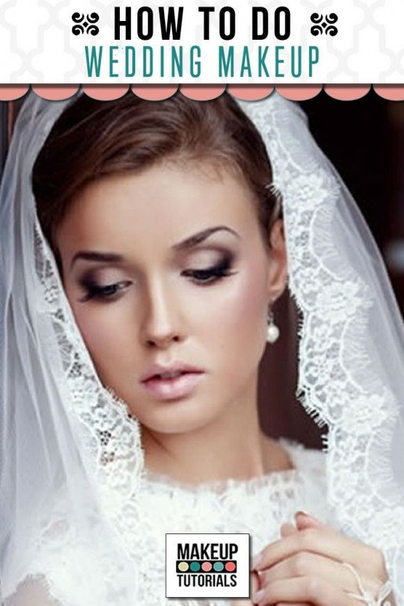 Simple Wedding Makeup Tutorial : Meer dan 1000 idee?n over Bruids Make Up Lessen op ...