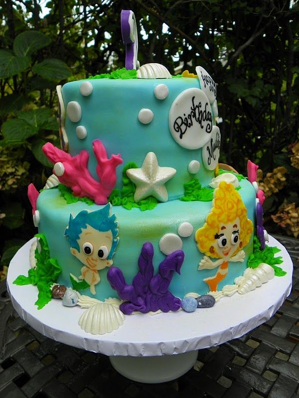 48 Best Images About Bubble Guppies Birthday On Pinterest