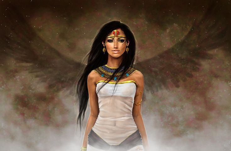Daughter of Isis by ~Nilhisiewen on deviantART