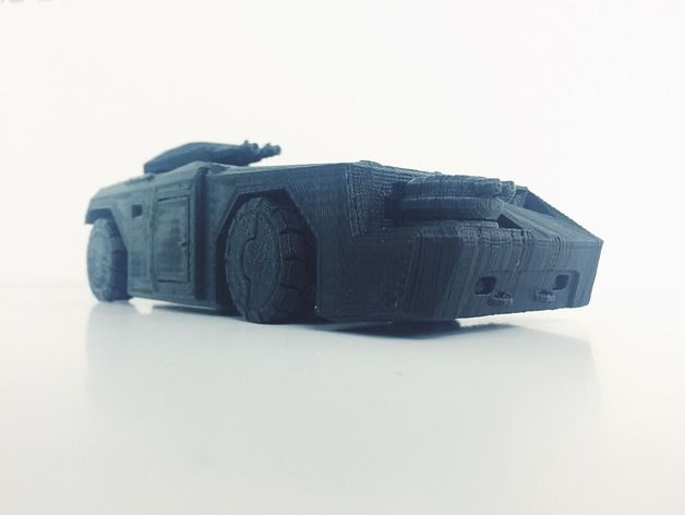 The M577 Armored Personnel Carrier (APC) from Aliens by aaskedall - Thingiverse