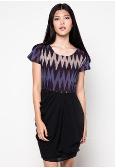 Evening dress zalora id