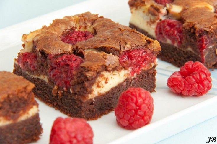 + Frambozen cheesecake brownies - Culy.nl