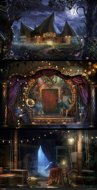 CIRCUS BY DELUXE-INTERACTIVE  http://zarkana.megafon.ru/cirque/