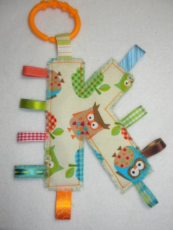 cute personalized baby gift!!  @Jill Meyers Meyers Meyers Meyers Hooten  all we would have to do is cut whatever letter out with the cricut and use that as a | http://giftsforyourbeloved.blogspot.com