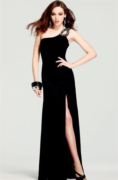 Купить длинное платье с разрезом