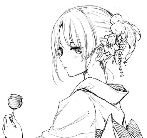Needs colouring with the right tones. But could be Matsuri clothes.