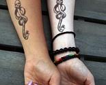 Temporary Dark Mark Tattoos