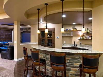Basement Wet Bar | Basement Pricing » Finished Basement Company
