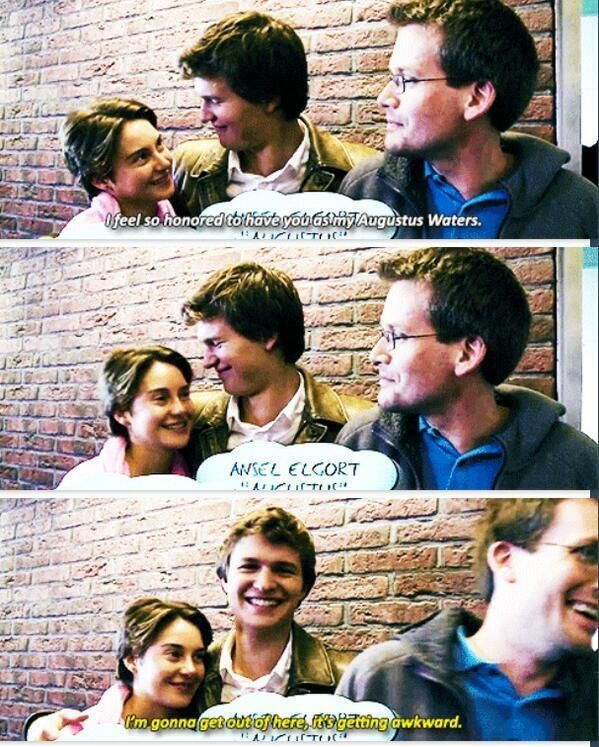 THIS IS SO CUTEEE. #tfios