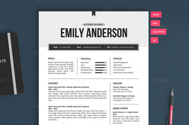 Want a resume that makes an impact? We've got a FREE template to help you make a lasting impression! Download, along with 5 other sweet free goods this week: