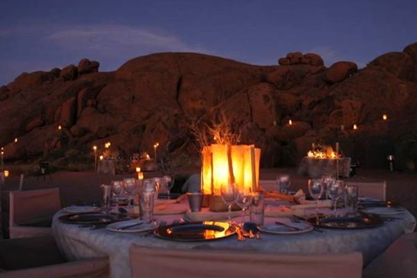 Sossusvlei Lodge - Outdoor functions, Bush dinners and Weddings in Namibia
