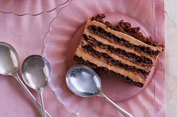 Kávés csokoládészelet – sütés nélkül! Krémes csábítás, remek édesség! :)