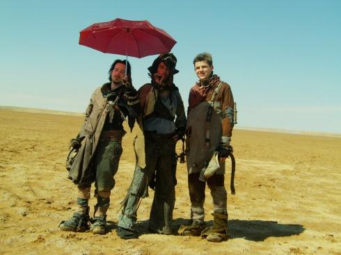 Shooting a postapocalyptic sci-fi guerilla film in the tunisian desert