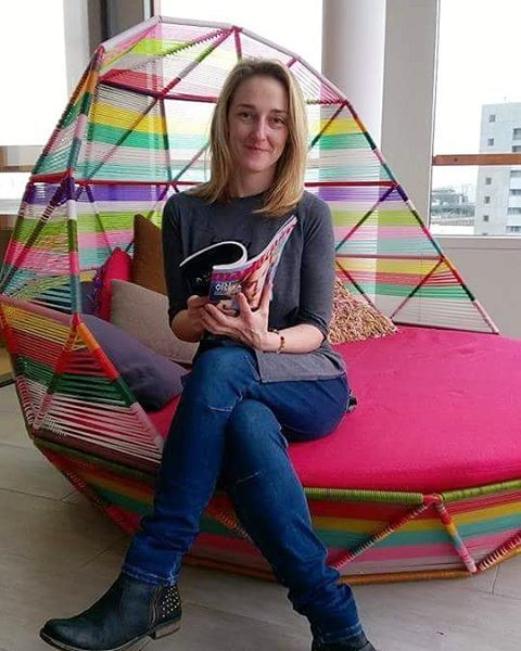 Kolléganőnk @tiefenthalereszter a Google londoni központjában vendégeskedett. #london #google