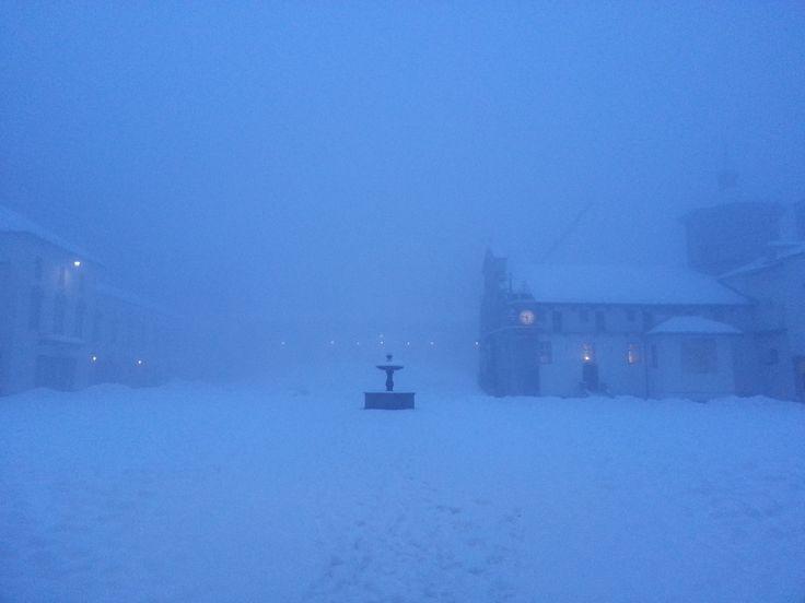 #oropa #neve #snow #nebbia #fog #MadonnaNera #BlackMadonna #montagna #mountain #Biella #Piemonte #inverno #winter