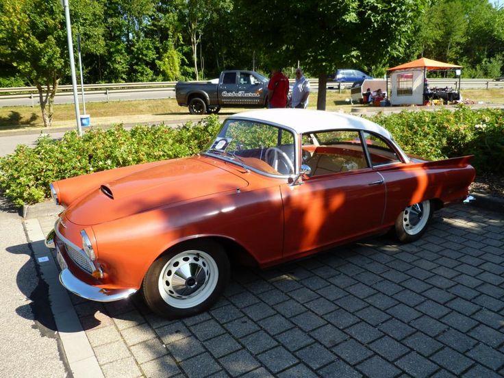 Auto Union 1000 Sp Coupé, Konzer Old- und Youngtimertreffen 2013,