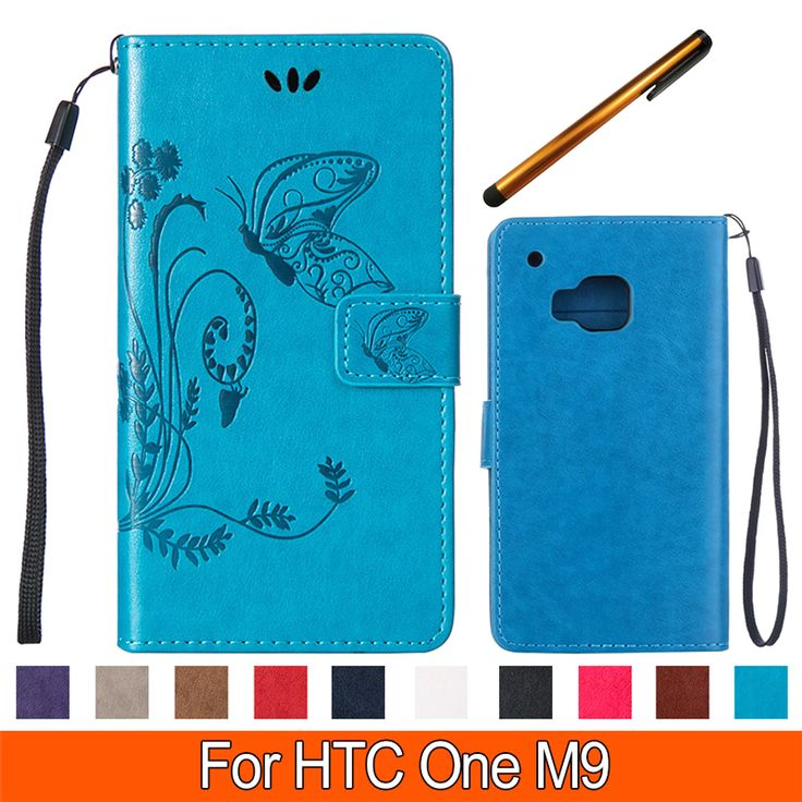 Find More Phone Bags & Cases Information about Luxury Butterfly Wallet PU Leather Phone Case for HTC M9 Flip Phone Bag Cover stand case with Card Holder Coque for HTC One M9,High Quality phone case manufacturers,China case for mobile phone Suppliers, Cheap phone cases for lg cookie from TopArmor Store on Aliexpress.com