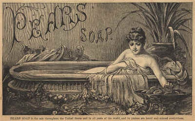 pears soap, vintage label, vintage ephemera,
