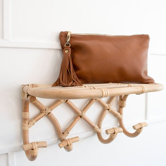 Leather Clutch Purse - Every day Clutch - Tan Leather Boho Clutch - Crossbody purse - Handmade in Australia - Sling Bag