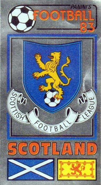 Scottish Football League crest.