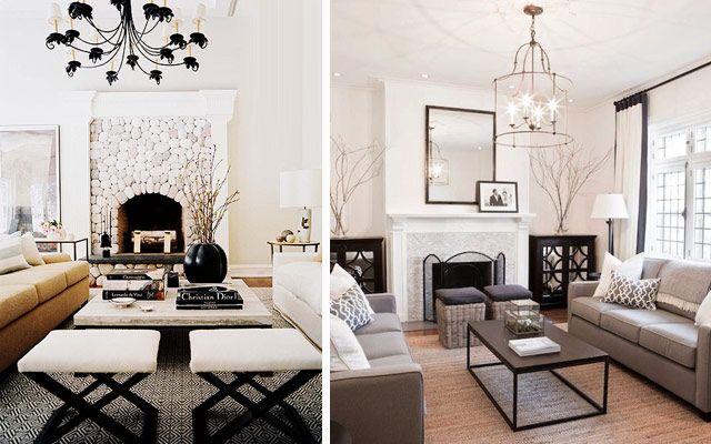 Decofilia blog c mo decorar el sal n con una doble - Como decorar mueble salon ...