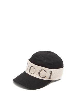 07873177055 Logo-print cotton cap
