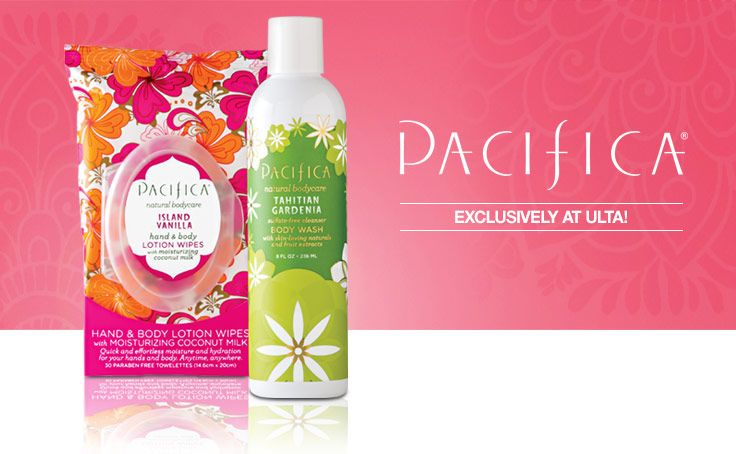 Be a natural beauty! 100% vegan brand @Pacifica Beauty is now available at all ULTA stores! Check out Pacifica items that are only at ULTA!