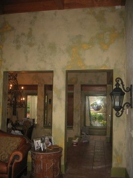 Lime Washed Plaster Interior Wall Surface Lime Wash Hand