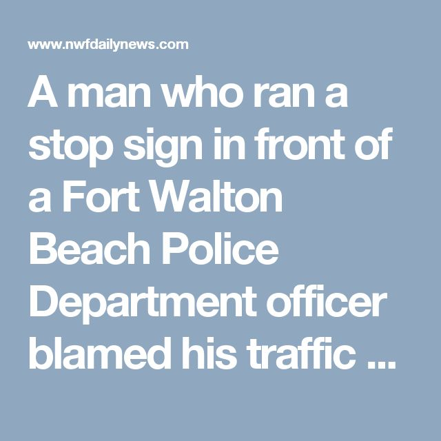 Fort Walton Beach Police Blotter
