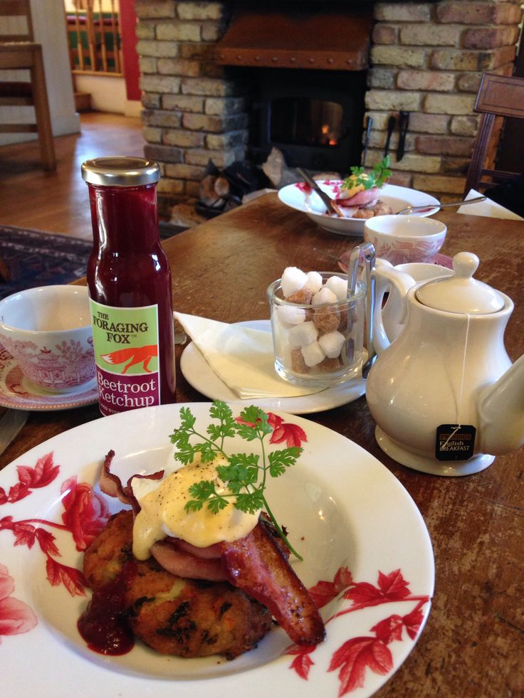 The Foraging Fox Beetroot Ketchup, beautiful with Bubble & Squeak!