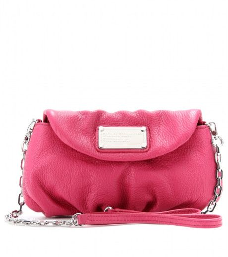 Marc By Marc Jacobs Karlie Leather Shoulder Bag in Pink (rose petal) - Lyst
