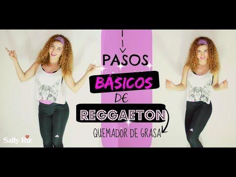Pasos básicos de Reggaeton para principiantes ,quemador de grasa. - YouTube