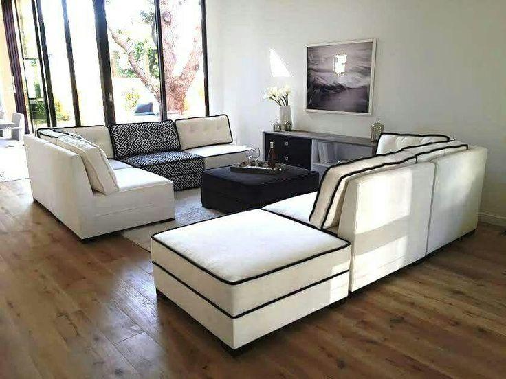 We make the canvas. You make it art. modlifecollection.com #furniture #sofa #couch #modular #seating #custom #madeinusa #moderndesign #lvmkt #interiors #staging #design