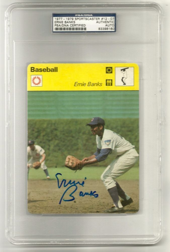 The interesting signing of ernie banks with the chicago cubs