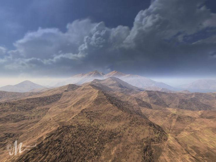 The Crystalline and Ridges terrains which were combined TE Filters - http://www.daz3d.com/bryce-terrain-editor-advanced-filter lit by one of Horo's Sunless Hdri skies.