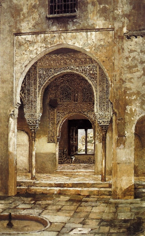 Alhambra, 1897 - Oil on canvas   Vardges Surenyantz (1860-1921)