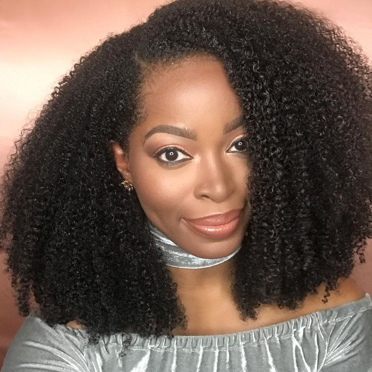 Big hair don't care natural coily 4b hair rocks Curly