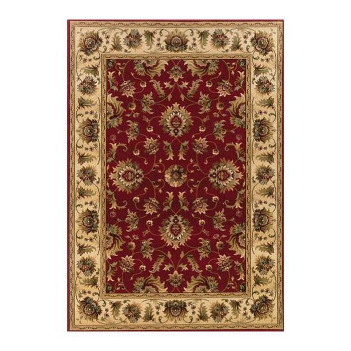 knightsbridge 211v 8 39 x 11 39 red area rug nebraska furniture mart rugs pinterest rugs