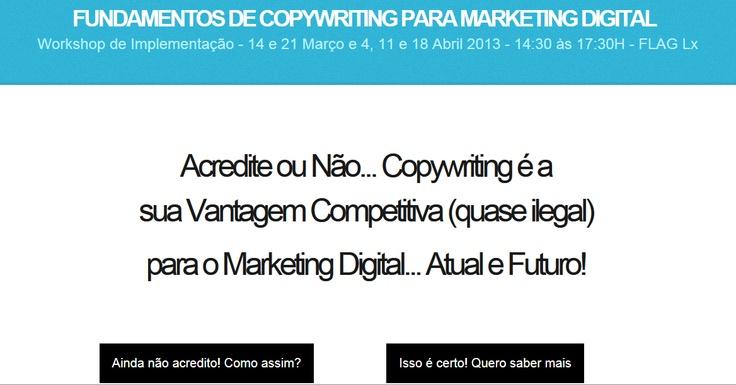 Fundamentos de Copywriting para Marketing Digital   http://copywriting.mariaspinola.com/