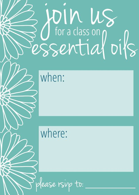 Doterra Class Invite Template Invitationjpgcom