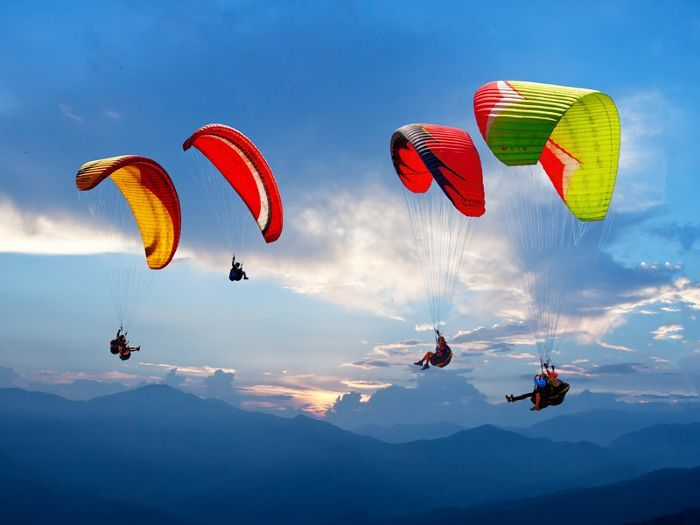 Why climb Mount Everest when you can fly? Everest Skydive not only takes you 29,000 feet over Mount Everest—the highest skydive in the world—but it also takes you into the heart of the Sherpa country. The adrenaline rush you get from your free fall is guaranteed to be unrivaled. for the Extroverted Traveler via @MyDomaine