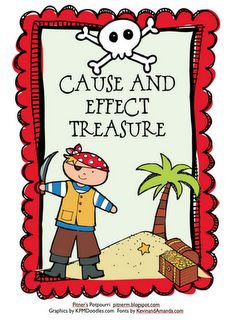 Cause and effect treasure game - whole group or centers