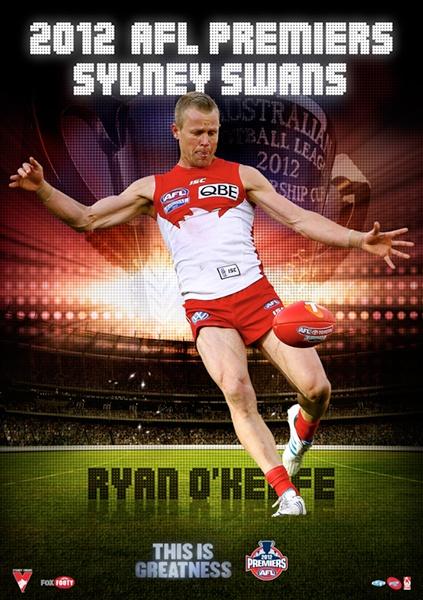 AFL Create A Poster: Sydney Swans - Ryan O'Keefe