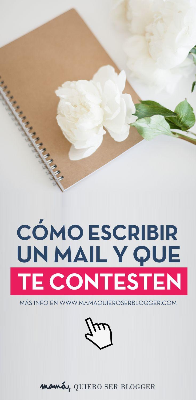 Si tienes que escribir a una marca, agencia o medio de comunicación para una colaboración, asegúrate escribes el mail correctamente.