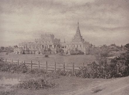 Burma, now Myanmar - 'Amerapoora: Ouk Kyoung' 1 September - 21 October 1855 © National Gallery of Art, Washington. Edward J. Lenkin Fund