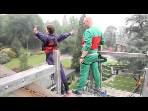 Bunjeesprong - Parcours en sprongen - Aventure Parc